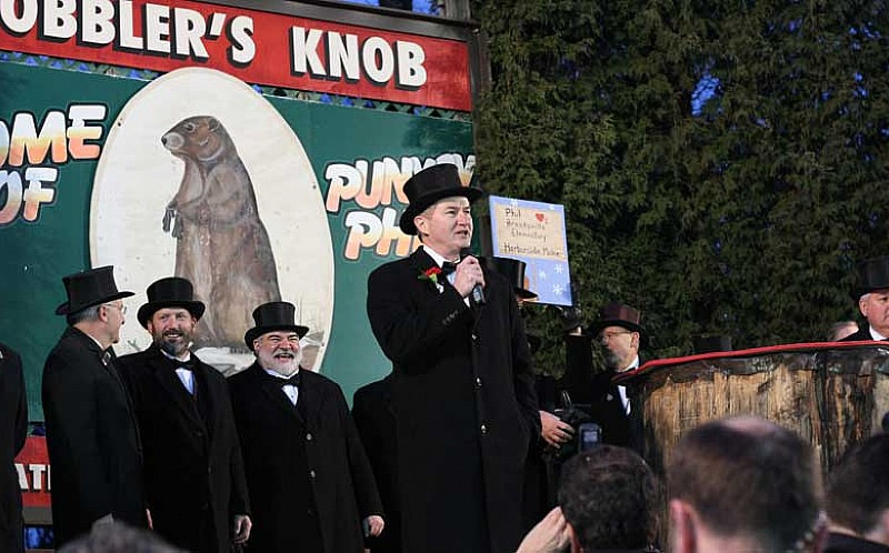 Past Groundhog Day Celebrations